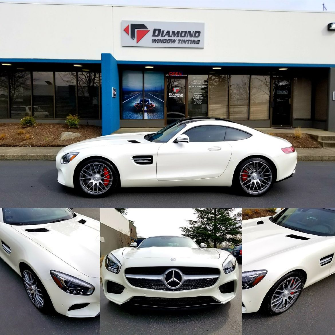 Mercedes GTS Gets Protected with XPEL Ultimate Clear Bra