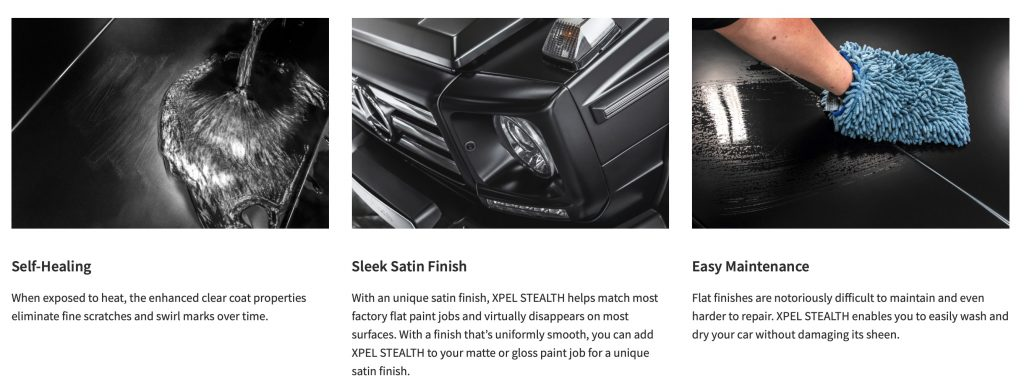 XPEL Stealth Paint Protection Film Benefits