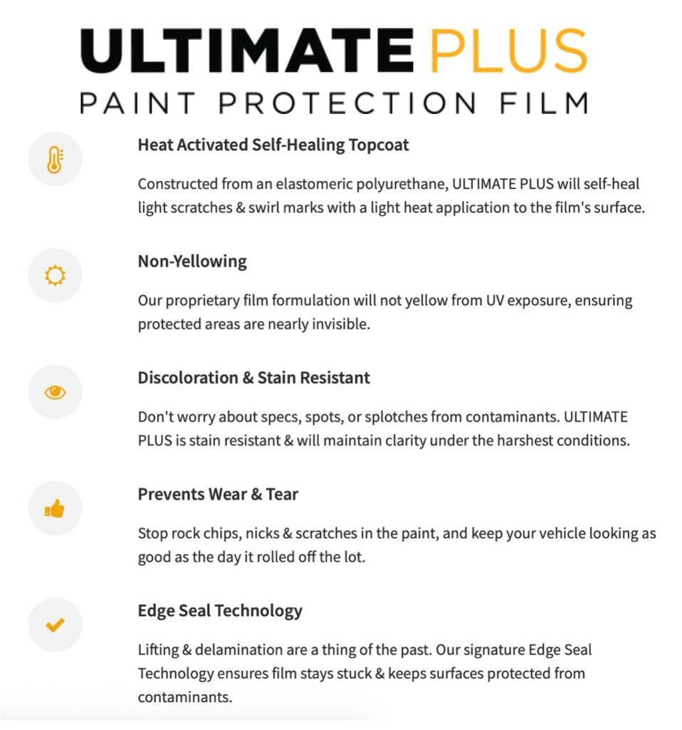 XPEL Ultimate Plus Paint Protection Film in Seattle, Washington